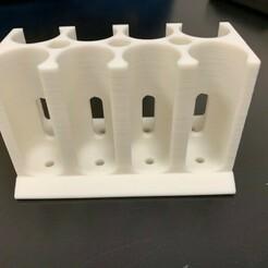 IMG_3403.jpg Download STL file Test tube holder • 3D print template, taniagrippi
