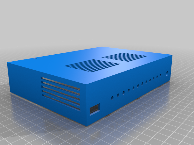 turristop.png Download free STL file Enclosure (case) for Turris Omnia router PCB • 3D printer template, glassy