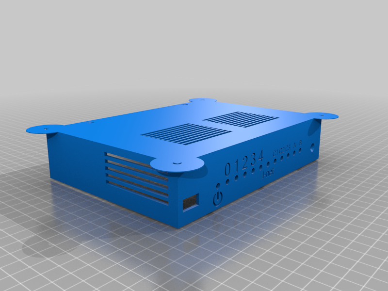 turristop_me_dy.png Download free STL file Enclosure (case) for Turris Omnia router PCB • 3D printer template, glassy