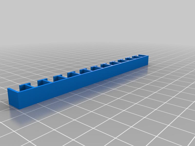 LEDseparator.png Download free STL file Turris LED separator • 3D printable model, glassy