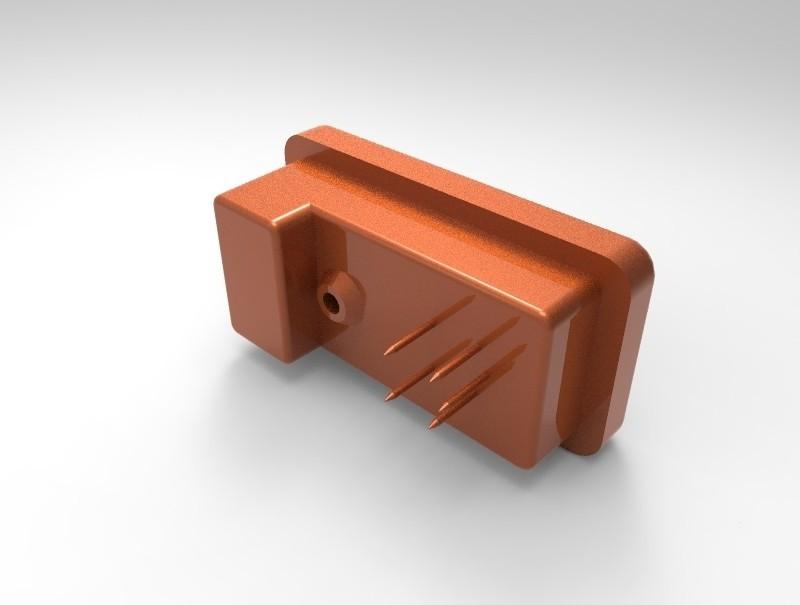 104e0945ac38f1de10b8a857ca3b28b4_display_large.jpg Download free STL file Model of the Russian made Geiger-Müller tube SBT-11( СБТ-11 ) • 3D printing model, glassy