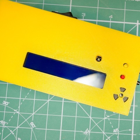 c10f5e48b24f3e41a6fe0c3f2839750c_display_large.jpg Download free STL file Enclosure for new SMD-based geiger counter by impexeris for SBM20 and STS-5 tubes • 3D printable object, glassy