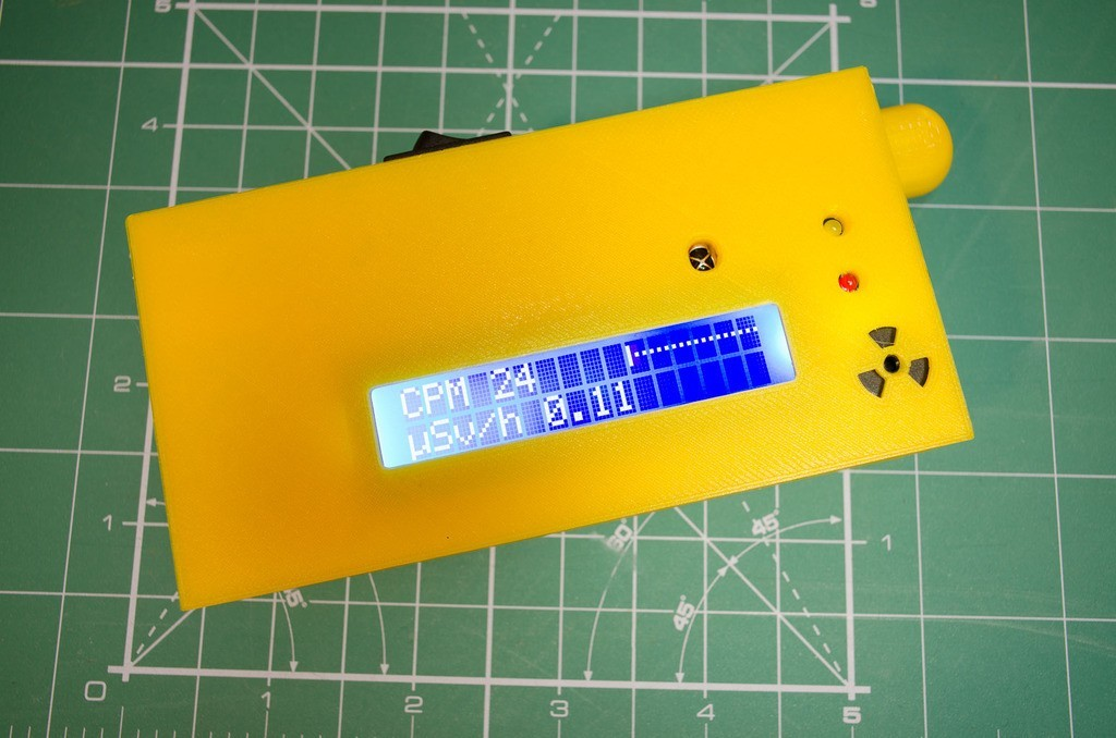 3df50d0b552ac66d353de18a22028e17_display_large.jpg Download free STL file Enclosure for new SMD-based geiger counter by impexeris for SBM20 and STS-5 tubes • 3D printable object, glassy