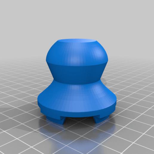 Download free STL file Filter chamber opening key-tool for NanoHack anti-virus mask • 3D print model, glassy