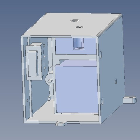 2b65f1b1129da7536cbbe5682fd17482_display_large.jpg Download free STL file Compact housing for PID controller and Solid State Relay • 3D printable design, glassy
