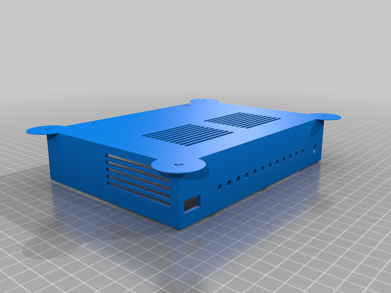 turristop_me.png Download free STL file Enclosure (case) for Turris Omnia router PCB • 3D printer template, glassy