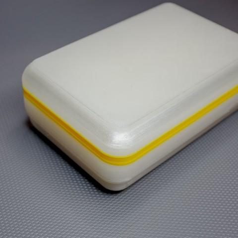 "094f002962e06035e885efecb71c9e61_display_large.jpg Download free STL file Soap box for 98x62x28mm ""Nesti Dante"" soap bar • 3D printable model, glassy"