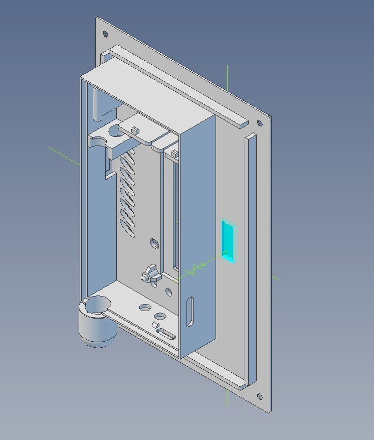 e603a702f93aa5dd47b6796549e228b6_display_large.jpg Download free STL file Panel-enclosure for new SMD-based geiger counter by impexeris • 3D printable object, glassy