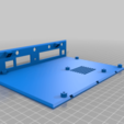 turris_bottom.png Download free STL file Enclosure (case) for Turris Omnia router PCB • 3D printer template, glassy