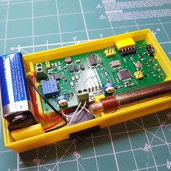 Download free 3D printing models Enclosure  SMD-based geiger counter with SBT9 by impexeris, glassy