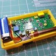 Free 3D printer model Enclosure  SMD-based geiger counter with SBT9 by impexeris, glassy