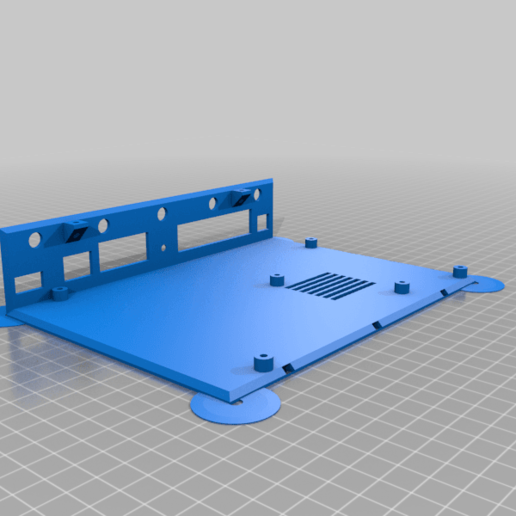 turris_bottom_me.png Download free STL file Enclosure (case) for Turris Omnia router PCB • 3D printer template, glassy