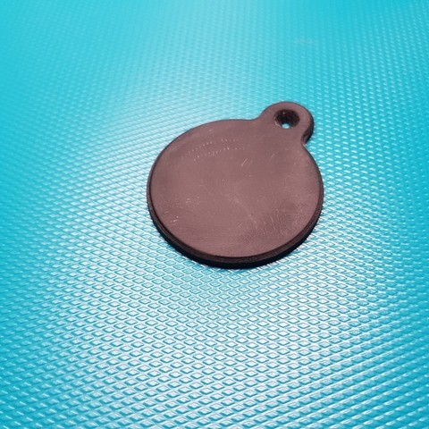 Download free 3D printer templates Key-hole cover, glassy