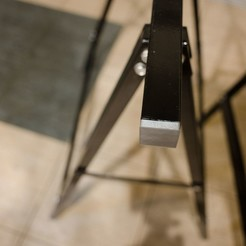 Free 3d printer files Plug for square metal profile, glassy
