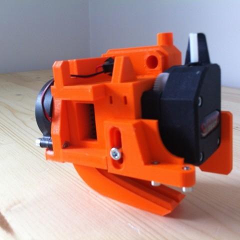 IMG_0929.JPG Download free STL file Direct Drive- E3DV6- Bondtech (right)-Bltouch • 3D printer template, kim_razor