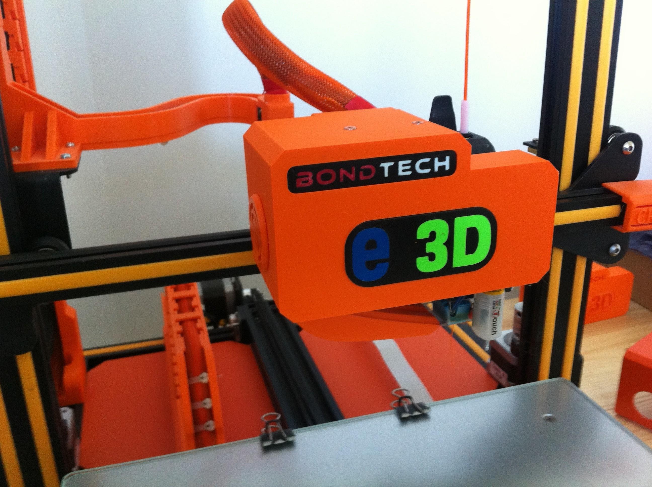 IMG_1221.JPG Download free STL file Direct Drive- E3DV6- Bondtech (right)-Bltouch • 3D printer template, kim_razor