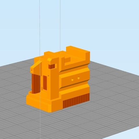 Sans titre02.jpg Download free STL file Direct Drive- E3DV6- Bondtech (right)-Bltouch • 3D printer template, kim_razor