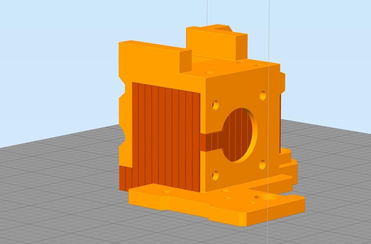 Sans titre3.jpg Download free STL file Direct Drive- E3DV6- Bondtech (right)-Bltouch • 3D printer template, kim_razor