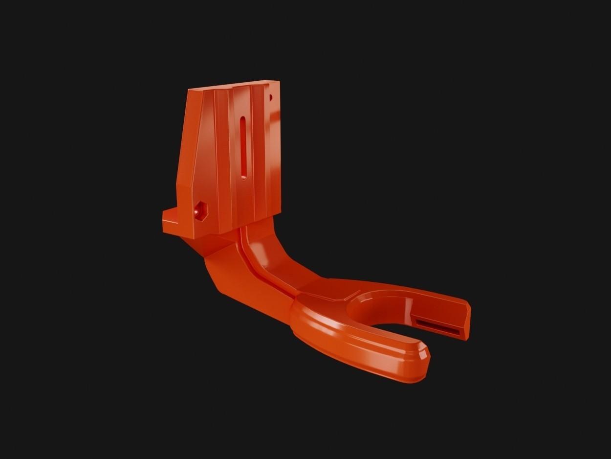 double flux02 .jpg Download free STL file Direct Drive- E3DV6- Bondtech (right)-Bltouch • 3D printer template, kim_razor