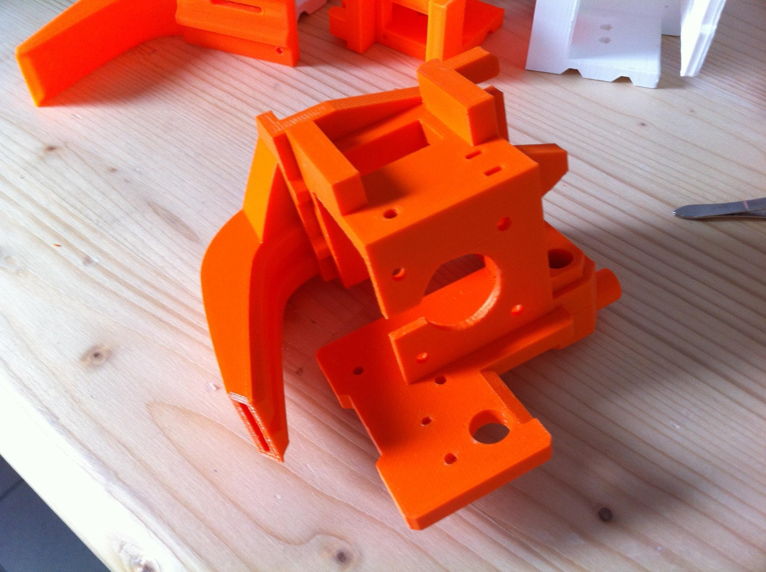 IMG_0906.JPG Download free STL file Direct Drive- E3DV6- Bondtech (right)-Bltouch • 3D printer template, kim_razor