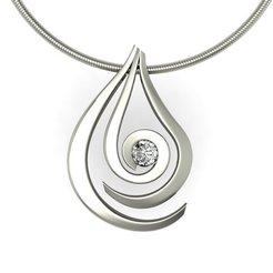 STL Water Drop pendant , hayk3dmodeling