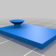 Télécharger fichier STL gratuit Simple cintre mural • Modèle pour impression 3D, MrCarefulGamer
