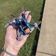 dda86eb7663cdeea1b9c91d2d855209a_display_large.jpg Download free STL file HD110 Full HD / BenAllen 3D printable micro drone / Quadcopter • Template to 3D print, BenAllen