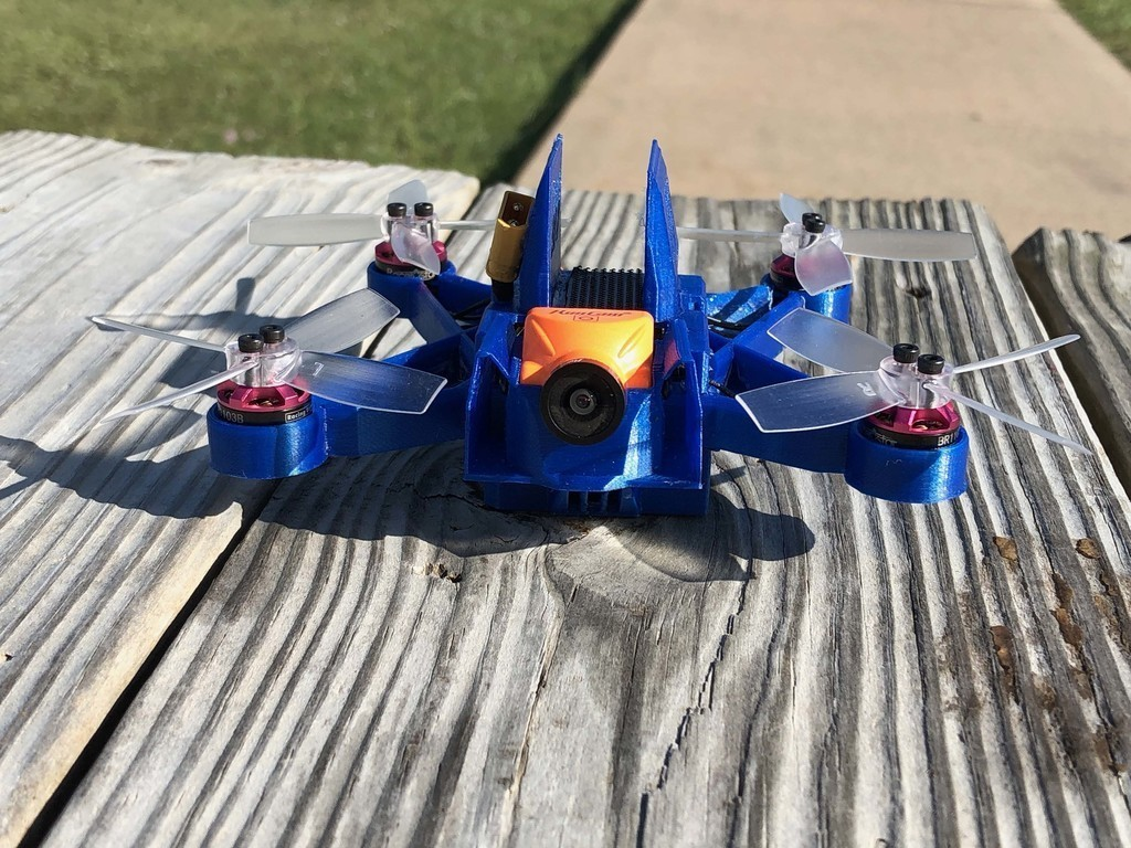 9210a3fc184687ceee78260391ee0112_display_large.jpg Download free STL file HD110 Full HD / BenAllen 3D printable micro drone / Quadcopter • Template to 3D print, BenAllen