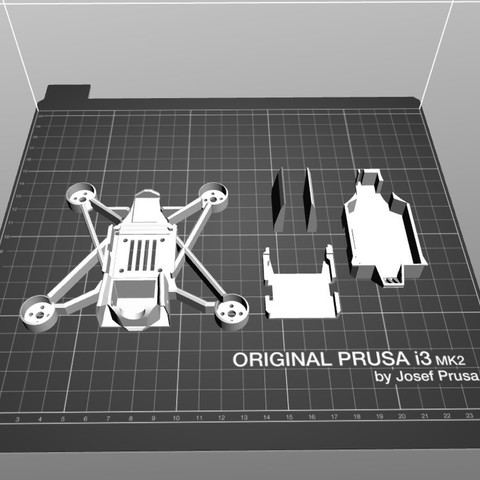 d86ba04c4397a2a2569250892457d344_display_large.jpg Download free STL file HD110 Full HD / BenAllen 3D printable micro drone / Quadcopter • Template to 3D print, BenAllen