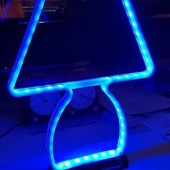 _ lampe 00.jpg Télécharger fichier STL gratuit Lampe leds • Design à imprimer en 3D, argemas