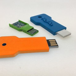 Clef USB reparing.jpg Download STL file USB key repair • 3D print template, simonetrolka