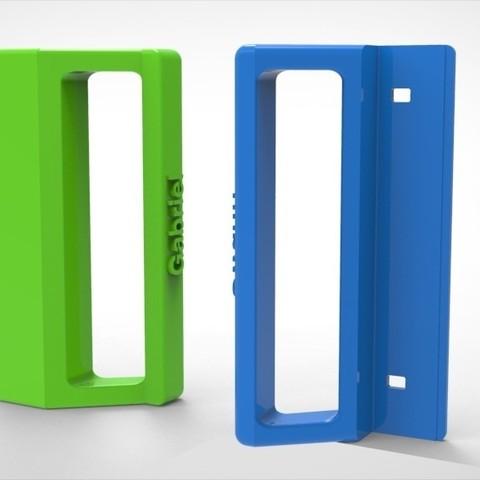 3D printer models Customized refrigerator handle, simonetrolka