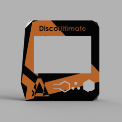 Download free 3D printer designs Ecran Dagoma Ultimate bicouleur, iguigui