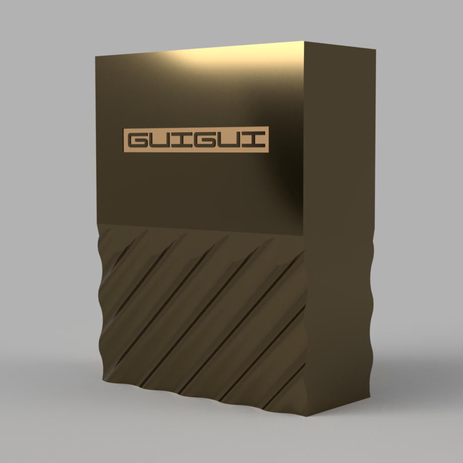 CarteDeVisite_iguigui_00.png Télécharger fichier STL gratuit Boîte à cartes design • Plan imprimable en 3D, iguigui