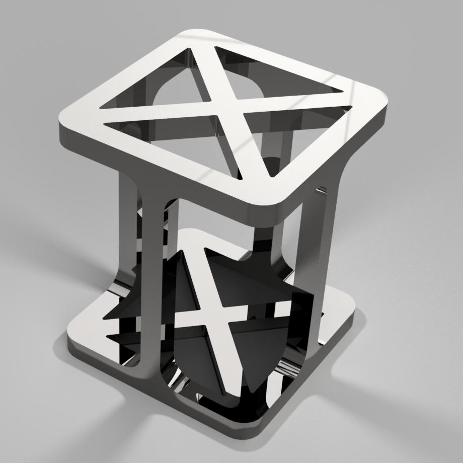 PotACrayonsMetal_iguigui_2.png Download free STL file Pot à crayons design • Object to 3D print, iguigui