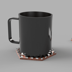 Download free 3D model Dessous de mug design, iguigui