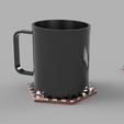 Download free 3D model Dessous de mug design, iguigui