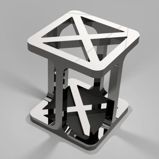 PotACrayonsMetal_iguigui_1.png Download free STL file Pot à crayons design • Object to 3D print, iguigui