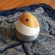 Download free STL file Design egg • 3D printer model, iguigui