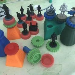 Modelos 3D gratis Complementos de asistente de pintura en miniatura, gthanatos