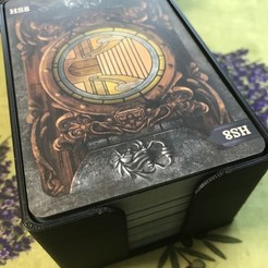 Free 3d printer model Mysterium Card holder to fit both expansions, gthanatos