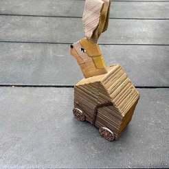 Download free STL file The Trojan Rabbit (less assembling) • 3D printer object, gthanatos