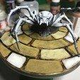 Download free STL spider base massive darkness, gthanatos