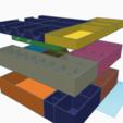 Descargar Modelos 3D para imprimir gratis Inserto de asalto imperial (diseño Rock Man), gthanatos