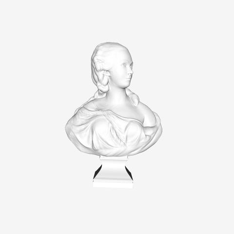 Capture d'écran 2018-09-21 à 17.29.32.png Download free STL file Jeanne Becu at The Louvre, Paris • 3D print template, Louvre