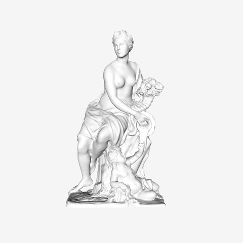 Download free 3D print files La Marne at The Louvre, Paris, Louvre