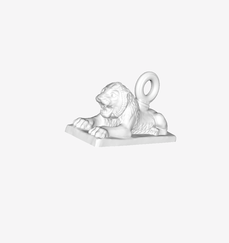 Capture d'écran 2018-09-21 à 12.01.20.png Download free STL file Sleeping Lion at the Louvre, Paris, France • 3D printable object, Louvre