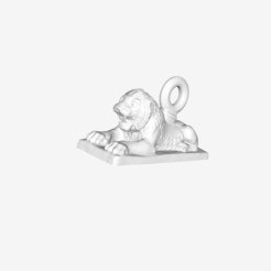 Download free 3D printing files Sleeping Lion at the Louvre, Paris, France, Louvre
