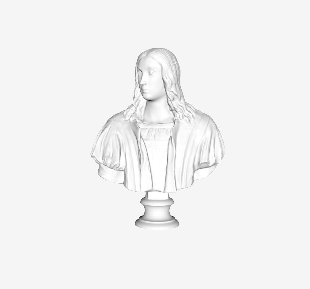 Capture d'écran 2018-09-21 à 17.52.47.png Download free STL file Bust of Raphael at The Louvre, Paris • Template to 3D print, Louvre