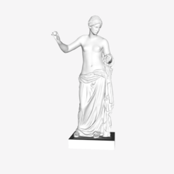 Download free 3D printer designs Venus of Arles at The Louvre, Paris, Louvre